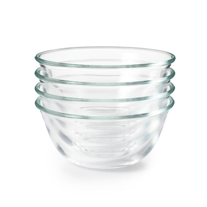 OXO Good Grips 4 Piece Glass Prep Bowl 4400
