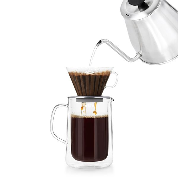 Glass Pour-Over Set  9288