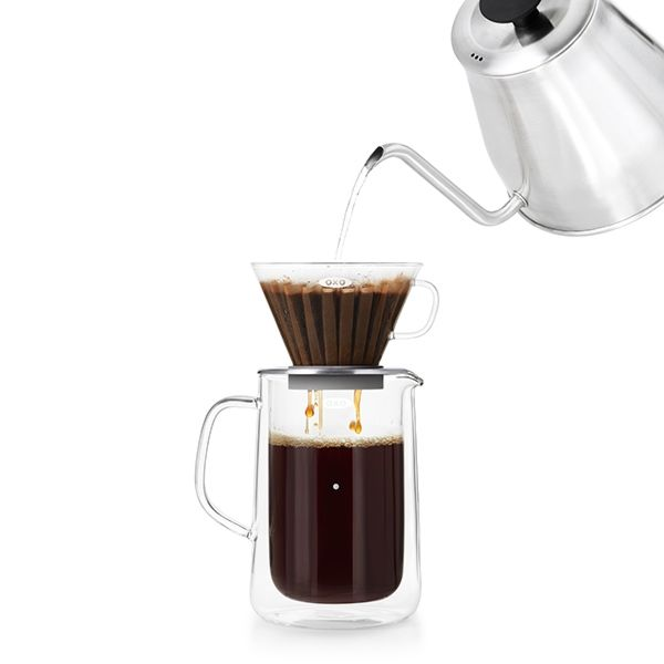 Glass Pour-Over Set  9285