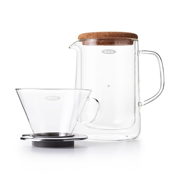 Glass Pour-Over Set  9287