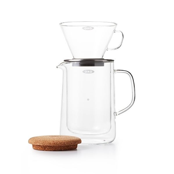 Glass Pour-Over Set  9286
