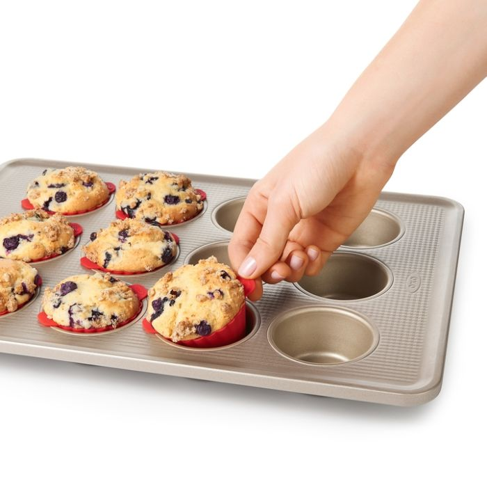 Silicone Baking Cups (12 Pack) 4096