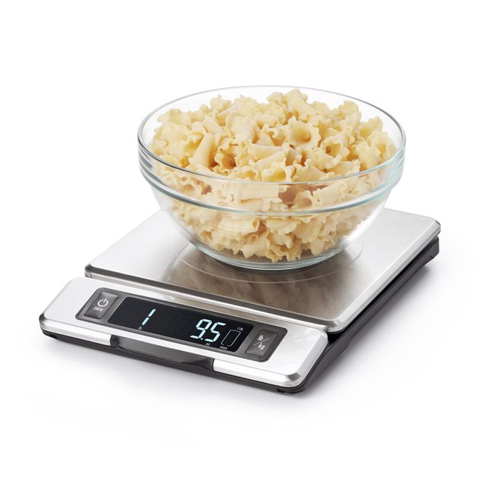 11 lb Stainless Steel Food Scale with Pull out Display 5022