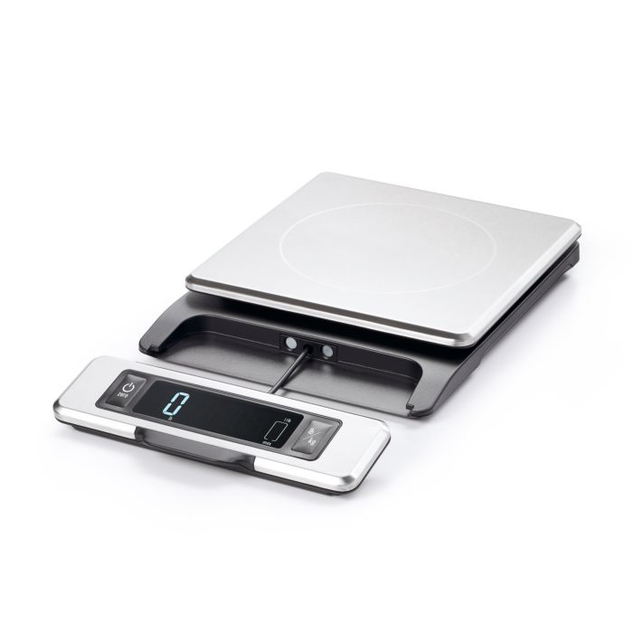 11 lb Stainless Steel Food Scale with Pull out Display 5019