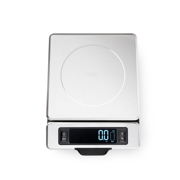 11 lb Stainless Steel Food Scale with Pull out Display 5021
