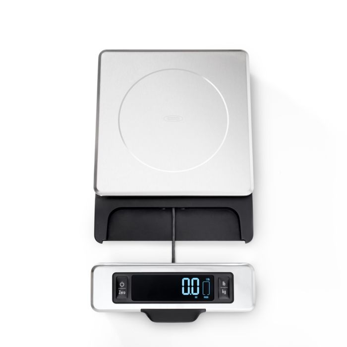 11 lb Stainless Steel Food Scale with Pull out Display 5023