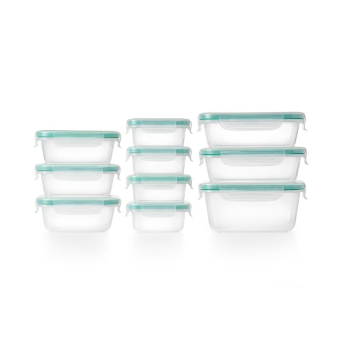 OXO Good Grips Smart Seal 20-Piece Plastic Container Set 8918