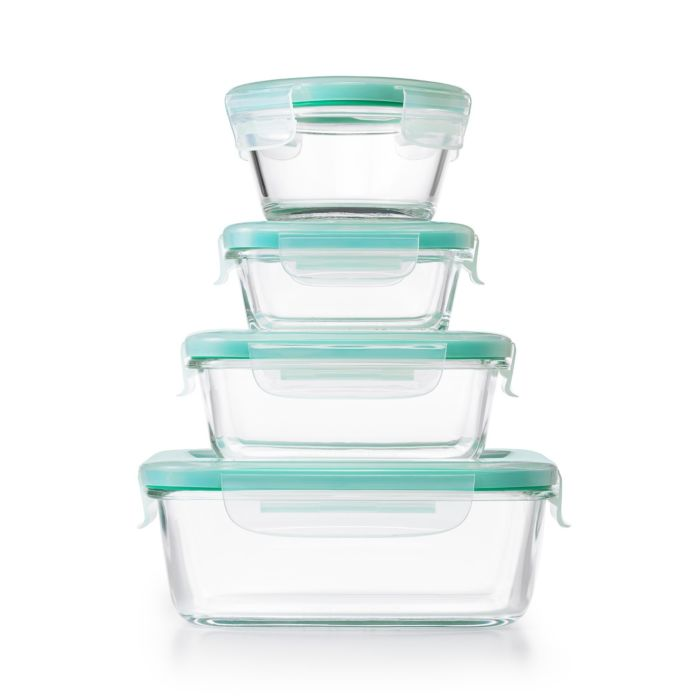 OXO Good Grips 12 Piece Smart Seal Glass Container Set 9000