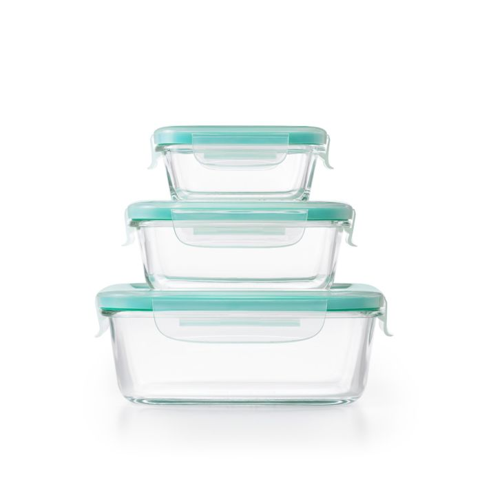 OXO Good Grips 12 Piece Smart Seal Glass Container Set 9002