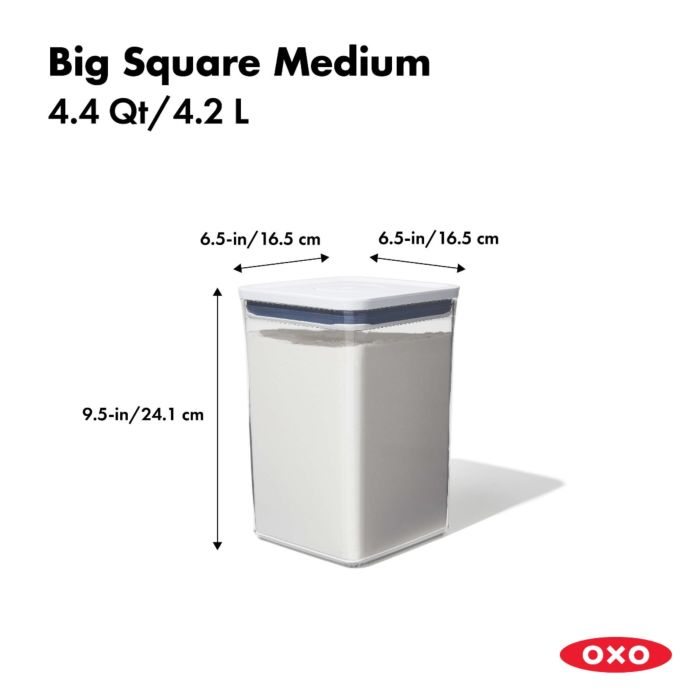 POP Container - Big Square Medium (4.4 Qt.) 175382