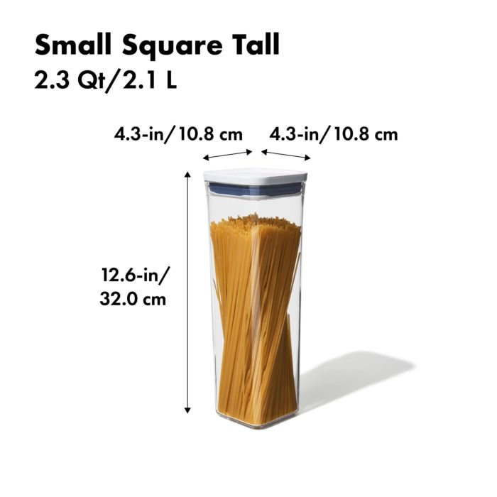 POP Container - Small Square Tall (2.3 Qt.) 177954