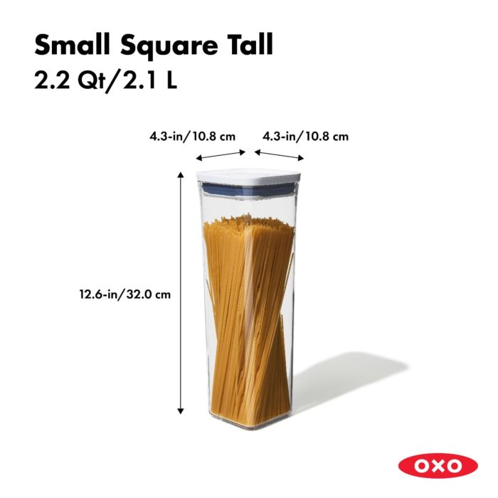OXO POP Container, Small Square Tall 2.2 qt. 175417