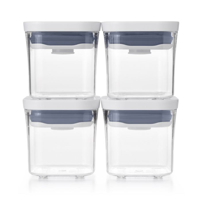 OXO Good Grips 4 Piece Mini POP Container Set