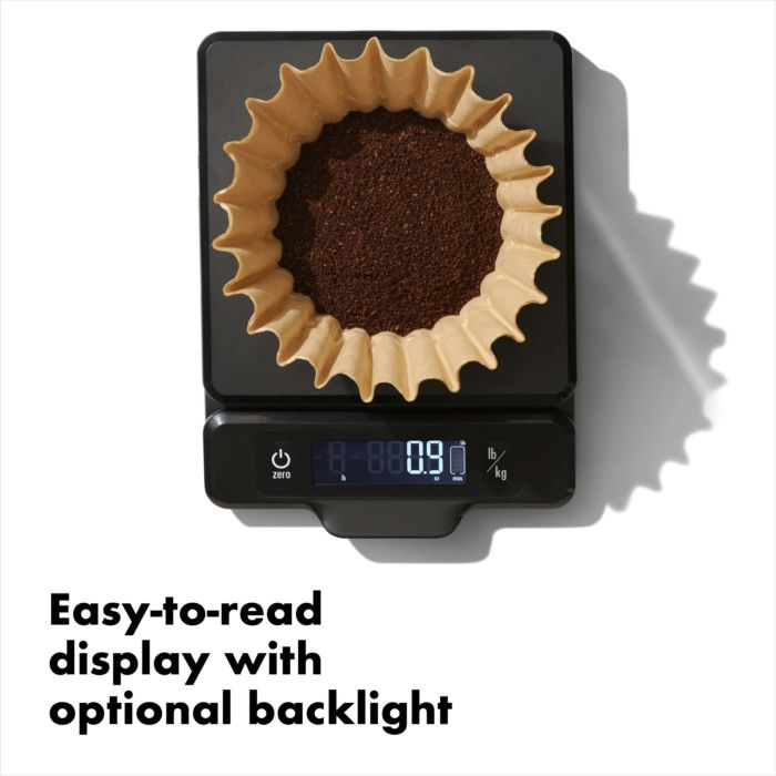 5 lb Food Scale with Pull-Out Display 177452