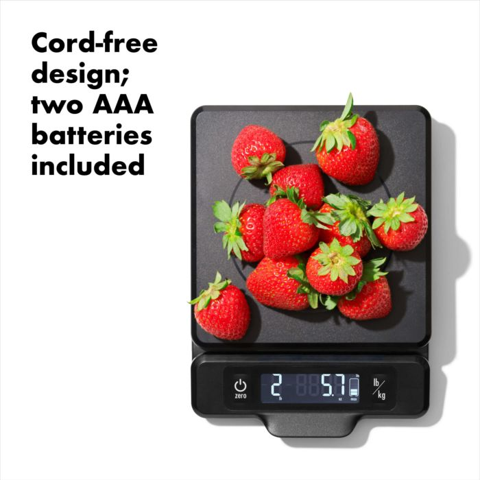 5 lb Food Scale with Pull-Out Display 177453