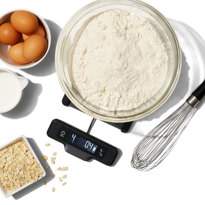 5 lb Food Scale with Pull-Out Display 177449