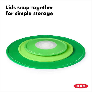 OXO Good Grips 3 Piece Reusable Lid Set 175499