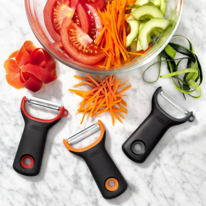 OXO Good Grips 3 Piece Prep Peeler Set, Assorted Blades 6297
