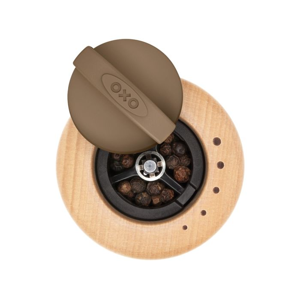 OXO Good Grips Classic Wood Salt & Pepper Mill Set 6428