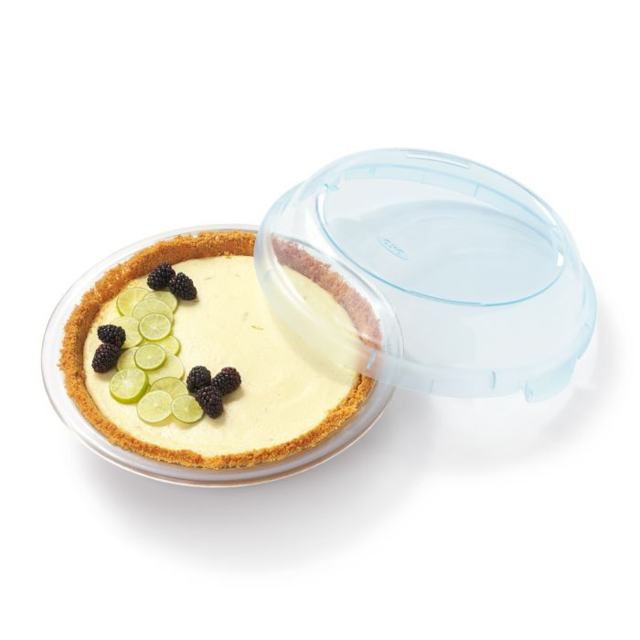 Pie inside OXO Good Grips 9-in Pie Plate with Lid