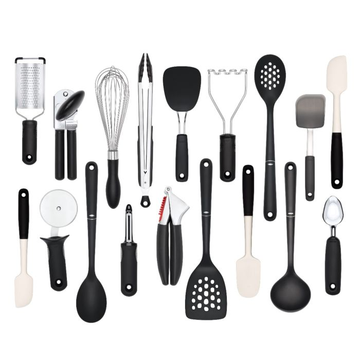 OXO Good Grips 18-Piece Kitchen Utensil Set 6276