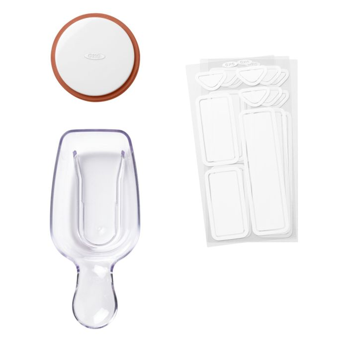 OXO POP 3-Piece Starter Set on POP Container lids