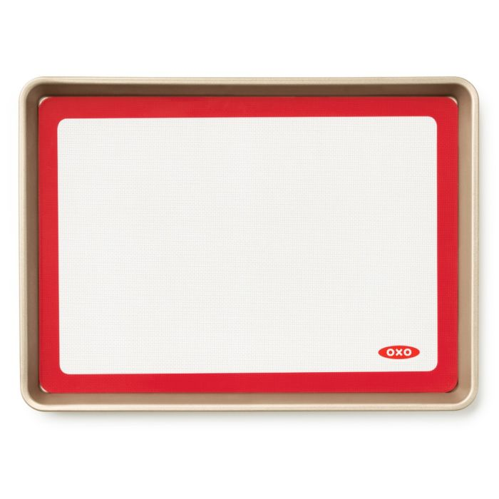 Silicone Baking Mat and Half Sheet Pan Set 6453