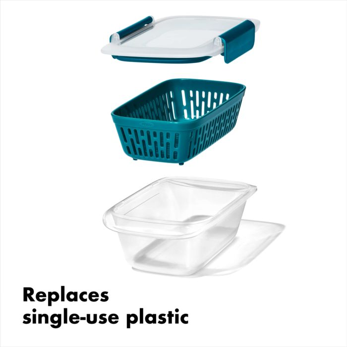 Prep & Go Container with Colander 178053