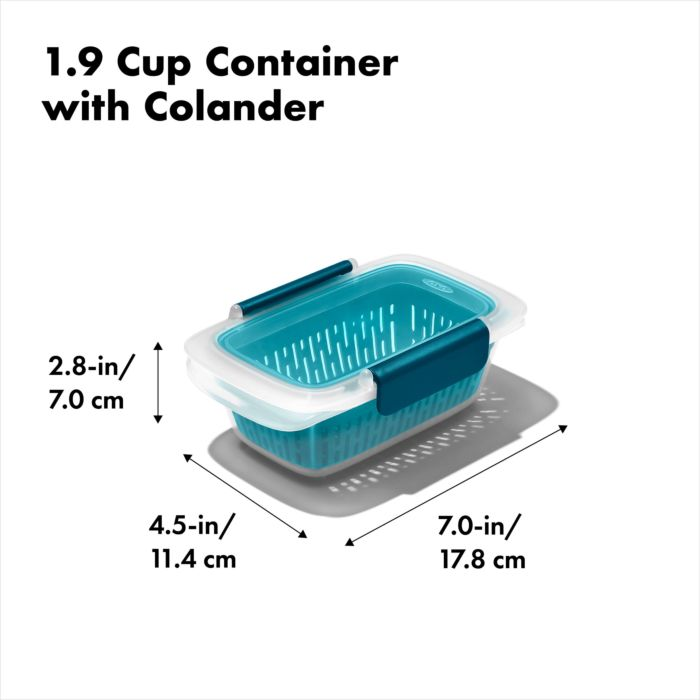 Prep & Go Container with Colander 178054