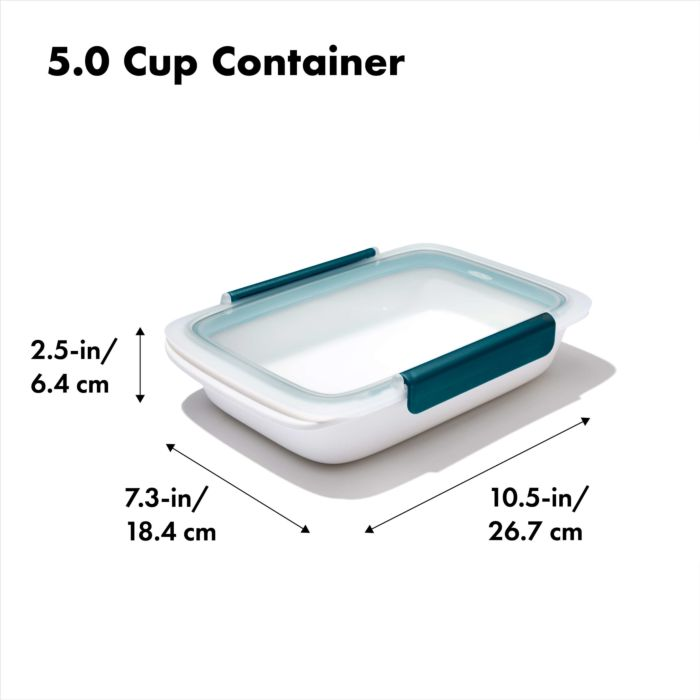 Prep & Go 5-Cup Container 178084