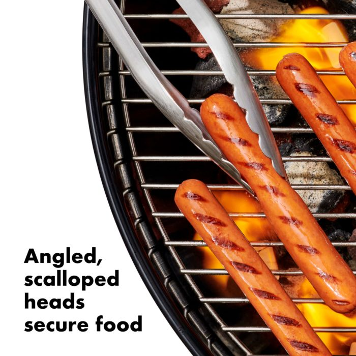 Grilling Tongs with Built-In Bottle Opener 177600