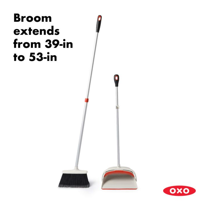 Large Sweep Set with Extendable Broom 177826