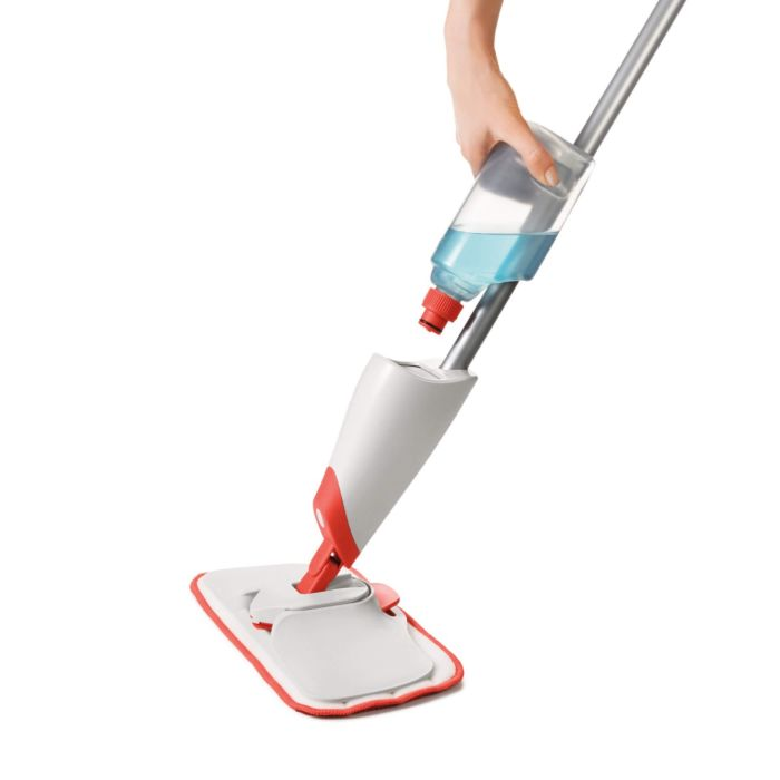 Microfiber Spray Mop with Slide-out Scrubber 176501
