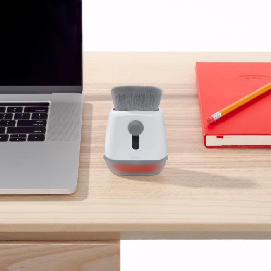 Sweep & Swipe Laptop Cleaner on desk