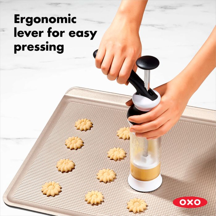 OXO Good Grips Cookie Press With Disk Storage Case 177651