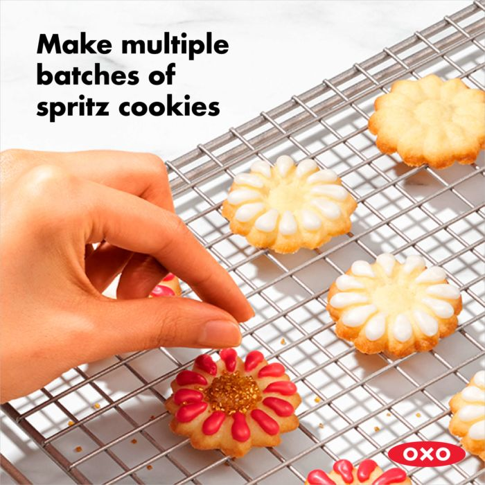 OXO Good Grips Cookie Press With Disk Storage Case 177653