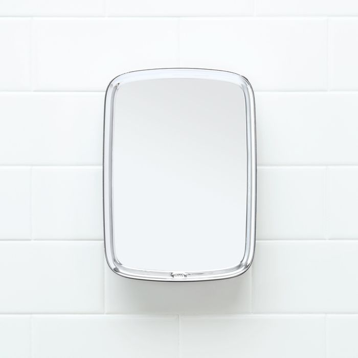 Suction Chrome Fogless Shower Mirror 4324