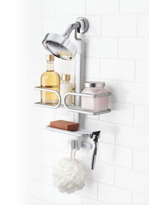 Compact Aluminum Shower Caddy 6695
