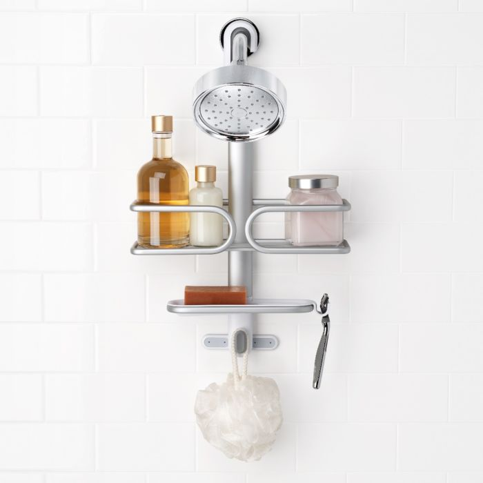 Compact Aluminum Shower Caddy 6696