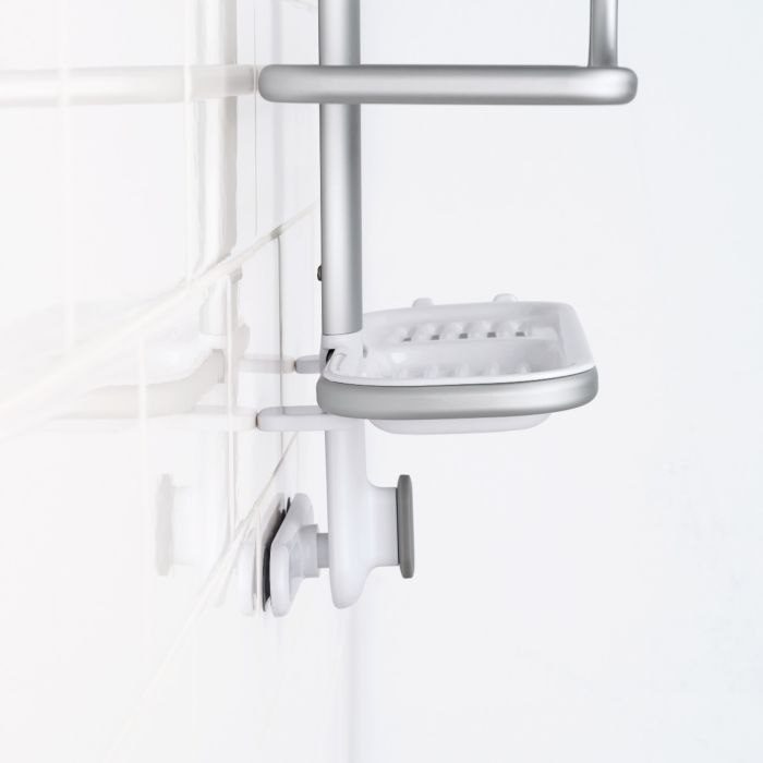 Compact Aluminum Shower Caddy 6694