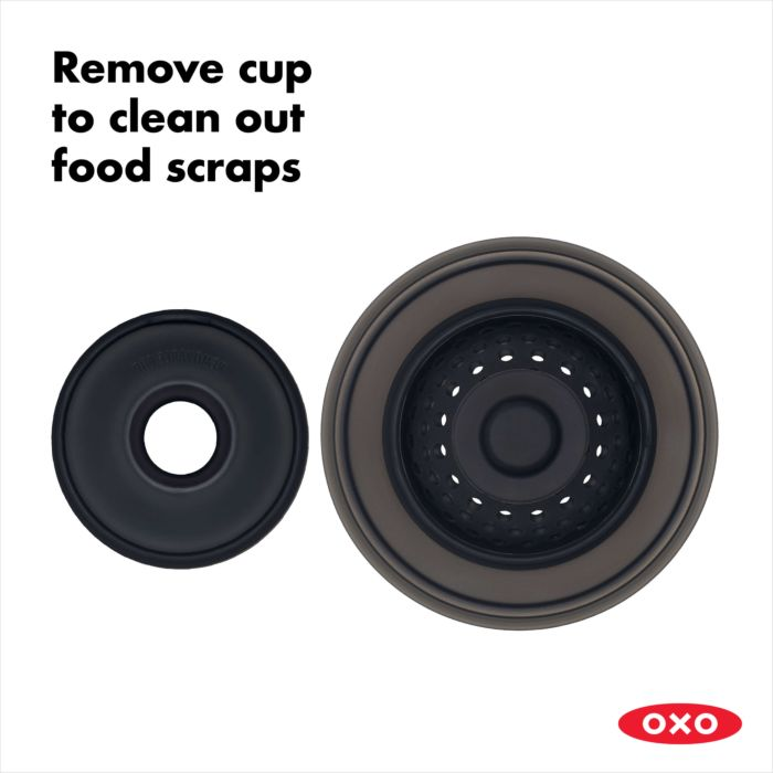 2-in-1 Silicone Sink Strainer with Stopper 177752