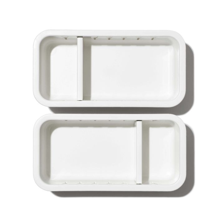 2-Piece Slim Adjustable Drawer Bin Set  176285