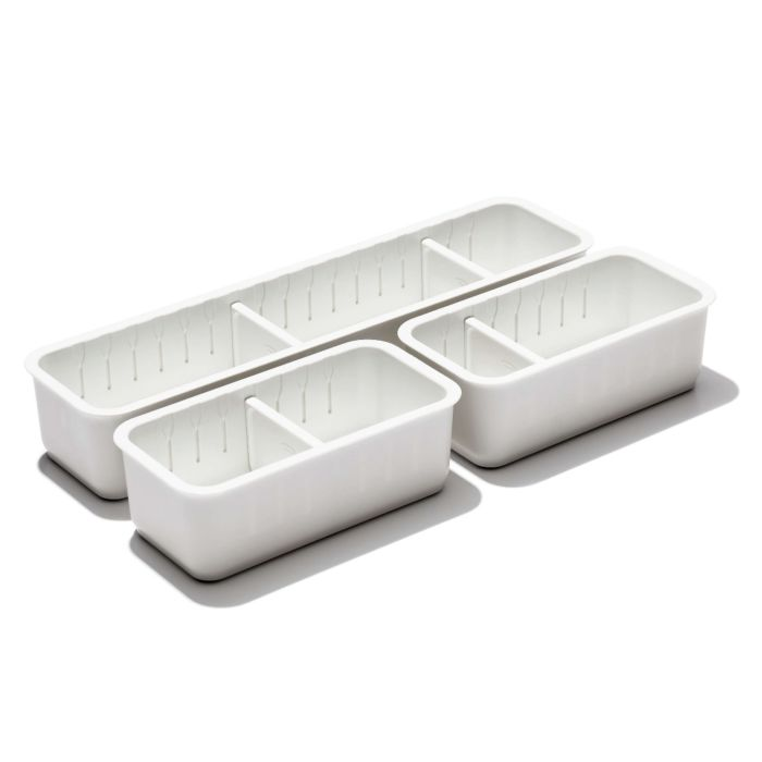 3-Piece Slim Adjustable Drawer Bin Set  176318