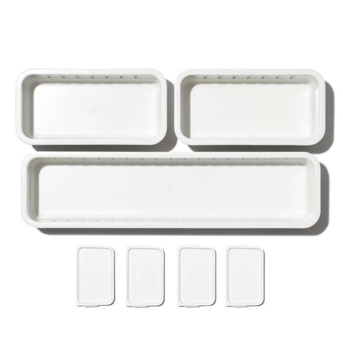 3-Piece Slim Adjustable Drawer Bin Set  176317