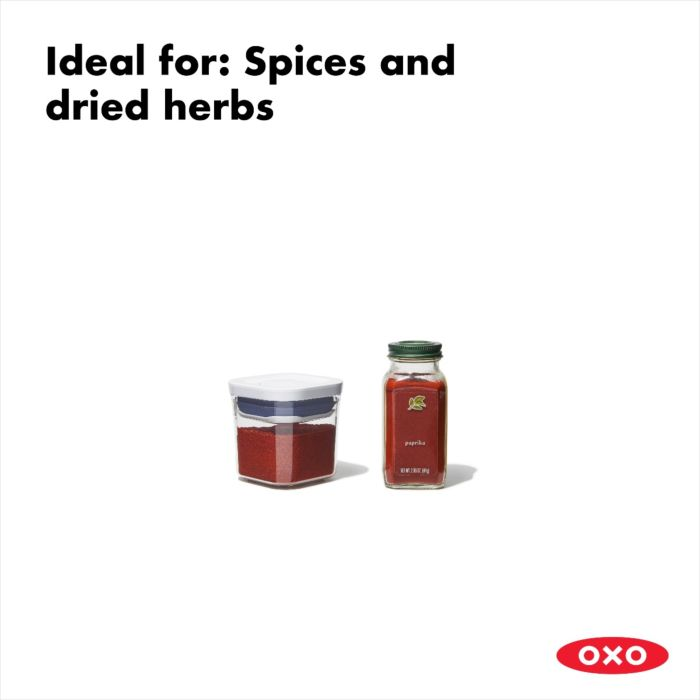 OXO POP Container, Mini Square Mini 0.2 QT 175451