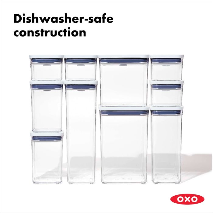 OXO POP Container, Small Square Short 1.1 qt. 175434