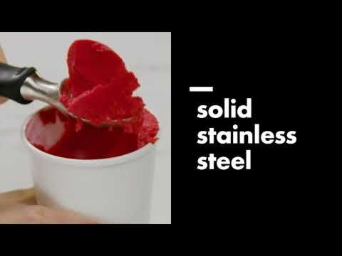 OXO Solid Stainless Steel Ice Cream Scoop 7530
