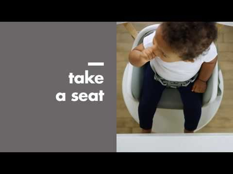 Nest Booster Seat with Removable Cushion 8602