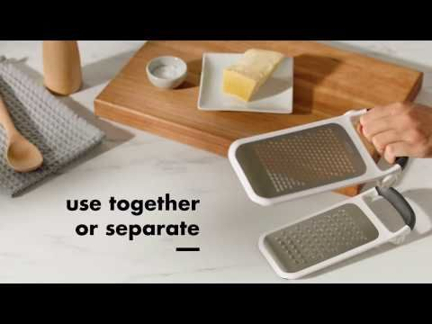 Etched Two-Fold Grater 8673