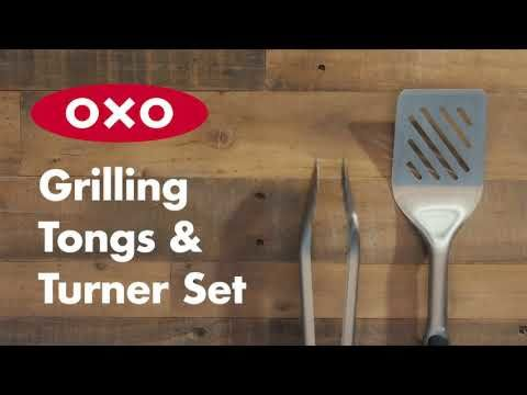 Grilling Tongs and Turner Set 178163